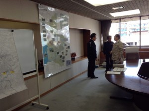 4月15日 熊本市役所にて大西市長と協議