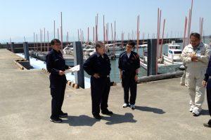 漁港被災状況 聴取