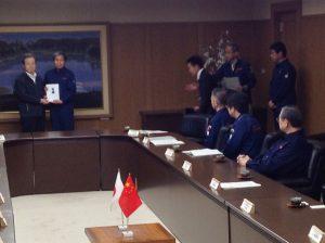 4/23 駐日中国全権特命大使 程 永華氏 来熊