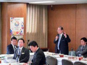 4/27九州地震対策会議にて