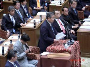 5/16 補正予算案 賛成討論